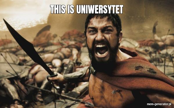 This is uniwersytet