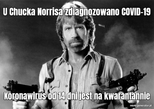 Chuck Norris koronawirus